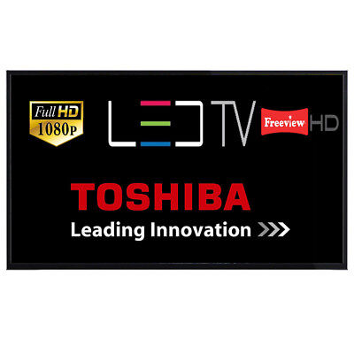 """Toshiba 43L1753 43"""" LED TV Full HD With Freeview HD Unit Only With Power Lead"""