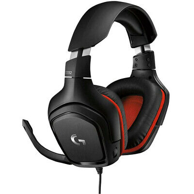 Logitech G332 Stereo Gaming Headset for PC, PS4, Xbox One, Nintendo Switch