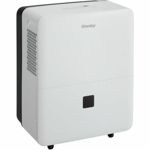 Danby 30-Pint Dehumidifier for 1500 sqft & Programmable 24-Hour Timer in White