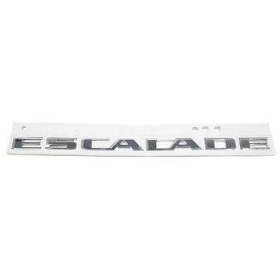 - OEM NEW Rear Liftgate Tailgate Hatch Emblem Chrome 2015 Escalade 22814075