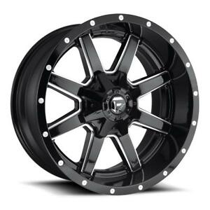 FUEL - MAVERICK  20x12 - 20x10 - 20x9 - 18x9 - 18x12 - 22x10 - 22x12 - 22x14 - 24x12 - 17x9----also dually