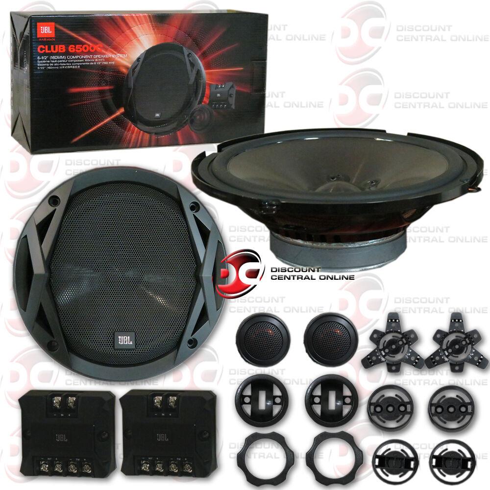 JBL CLUB 6500c 6-1/2 2-way Component Speaker System