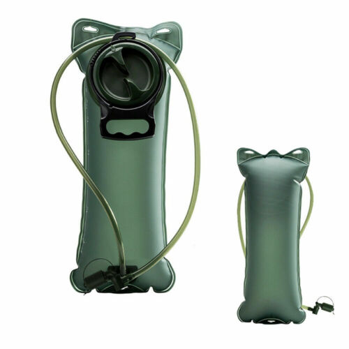 2L Water Bladder Bag Backpack Hydration System Survival Pack