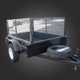 Cage Trailer - 6x4 Campbellfield Hume Area Preview