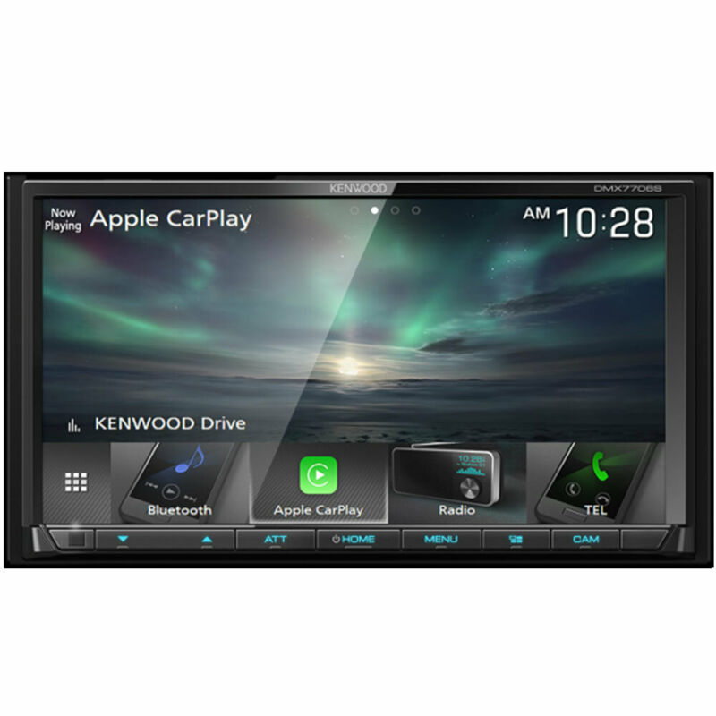 "Kenwood DMX7706S 6.95"" Digital Multimedia Receiver CarPlay + A. Auto"
