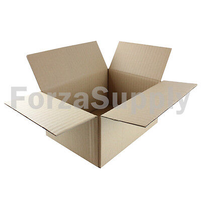 25 8x6x4 Ecoswift Brand Cardboard Box Packing Mailing Shipping Corrugated