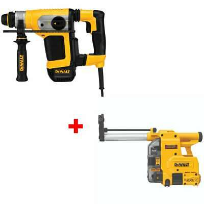 Dewalt D25416k Low Vibration 1-18 Sds Combo Hammer With Free Dust Extractor
