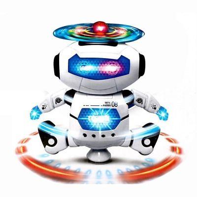 Toys Robot Kids Toddler Robot Dancing Musical Toy Best Birthday Xmas Gift