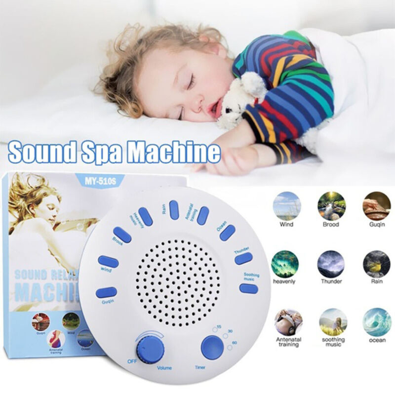 Sound Spa Relax Machine White Noise Baby Adult Sleep Nature