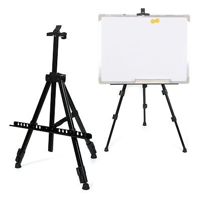 Artist Field Studio Painting Easel White Board Display Adjustable Tripod Stand