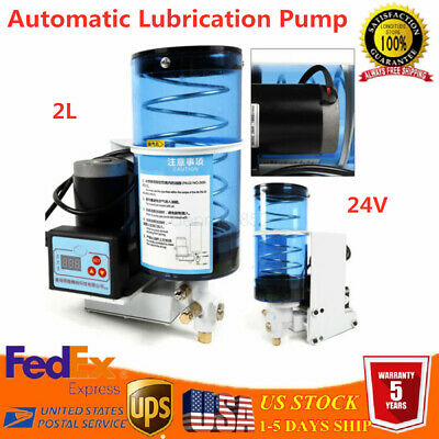 Automatic Electric Grease Pump Lubrication Oil Punch Butter Pump 2l 24v 6mpa Top