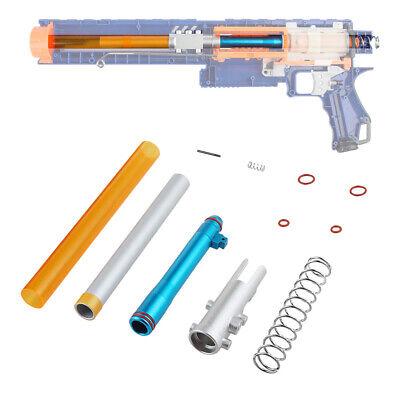 Worker Mod Short Dart Stefan Metal Breech Tube Kit Silver for Nerf Rampage Toy (Nerf Rampage Mod Kit)
