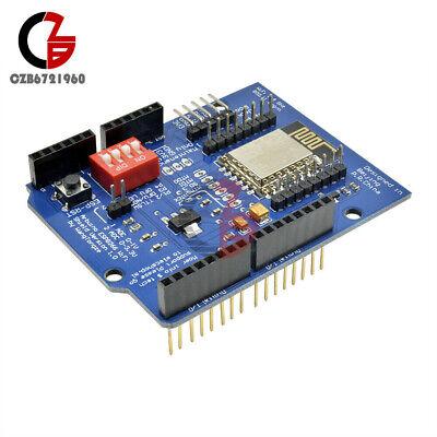Esp-12e Esp8266 Uart Wifi Wireless Shield Ttl Converter For Arduino Uno R3 Mega