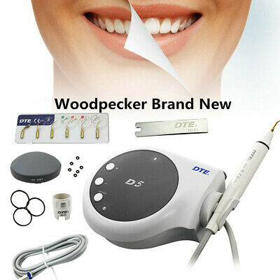 100 Woodpecker Dental Lab Dte Ultrasonic Piezo Scaler D5 Handpiece Satelectips