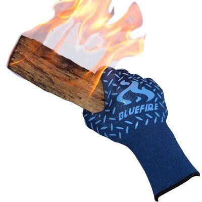 Bluefire Pro Heat Resistant Gloves - Oven - Bbq Grilling - Big Green Egg -