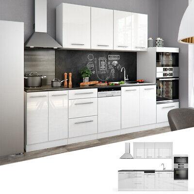 Cucina Vicco S-Line Cucina componibile Blocco cucina Cucina su misura 295 cm