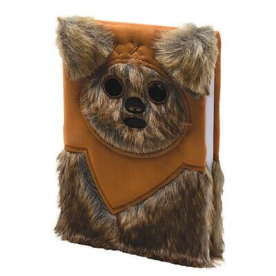 Genuine Star Wars Ewok Furry A5 Premium Hardback Journal Notebook Pad Lucasfilm
