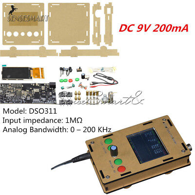 2.4 Dso311 Tft Digital Mini Lcd Oscilloscope1msps Stm32 12-bit With Probe
