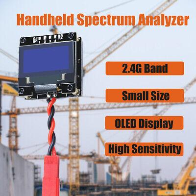 Handheld Spectrum Analyzer High Sensitivity 2.4g Band Oled Display Tester Meter