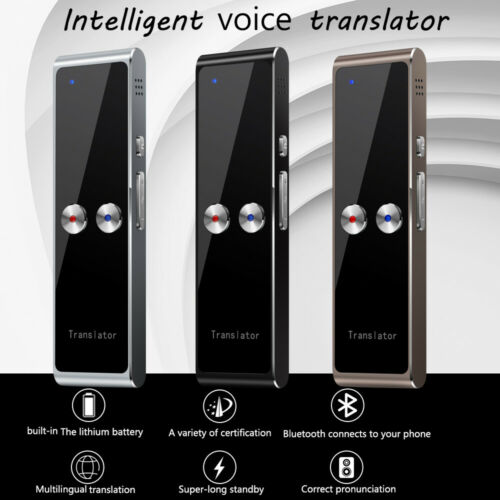 Upgraded Smart Language Translator Two-Way Instant Voice Photograph Translaty