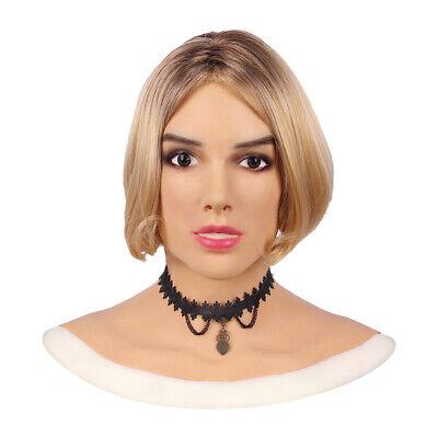 Silikonmaske Haut Realistische Cosplay Weibliche Tanz Halloween Maskerade - Weiblich Halloween Masken