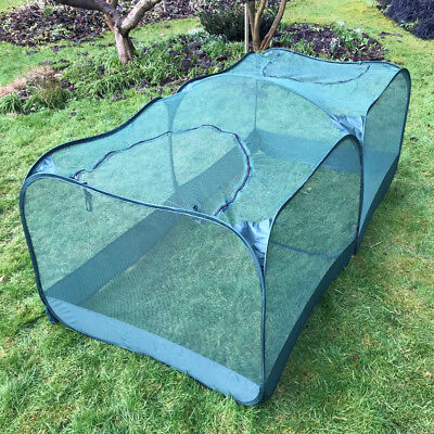 2.50m x 1.25m x 0.75mPop-Up Giant Garden Fruit Cage Veg Cage GPN125-50