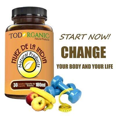 Natural Weight Loss Pills - Weight Loss Pills NUEZ DE LA INDIA CAPSULES Fat Burning, 100% Natural