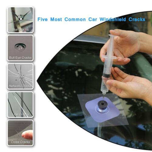 DIY Windshield Glass Repair Kit Car Window Repair Windscreen Glass Scratch Crack