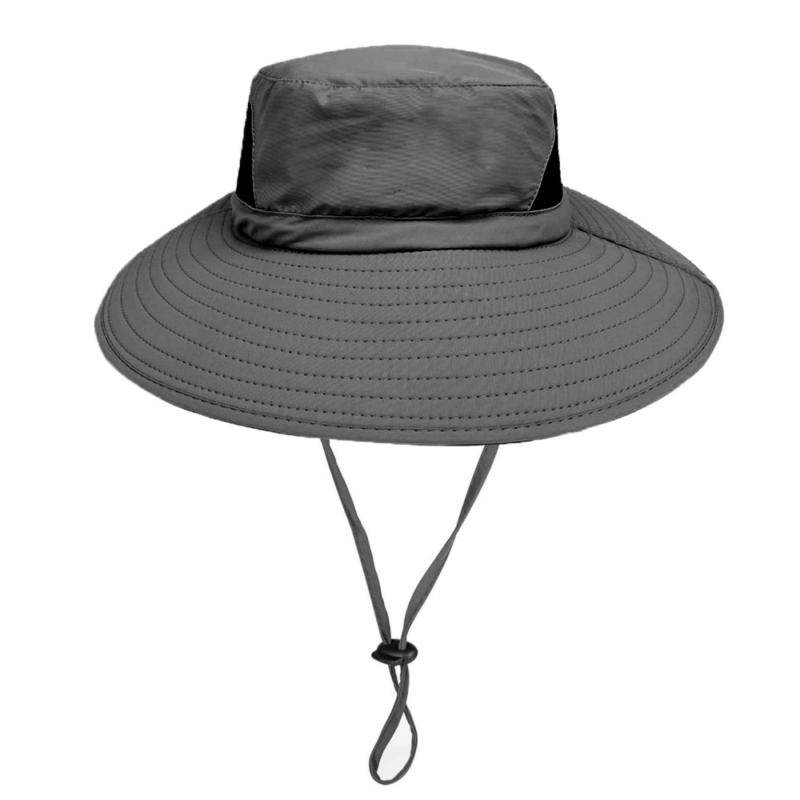 Dracarys Sonnenhut im Freien - 50UV Sonnenschutz Mit Breiter Krempe Nylonhut - S