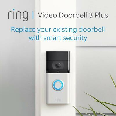 All-new 2020 Ring Video Doorbell 3 Plus | 1080p HD video, Advanced Motion RNG