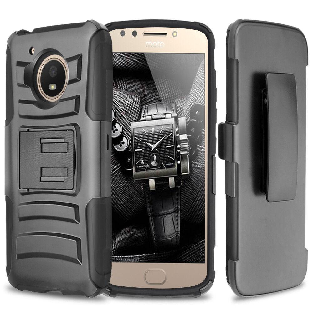 for-motorola-moto-e4-plus-hybrid-armor-rugged-belt-clip-holster-cover-phone-case