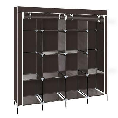Portable Closet Wardrobe Clothes Rack Storage Space