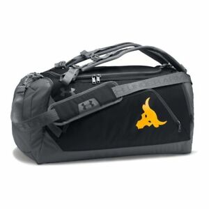 118ef96098f UA Under Armour Project Rock Delta Contain Duo Backpack Duffel ...