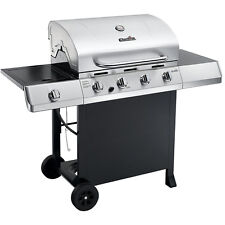 Char-Broil Classic 4-Burner Gas Grill w/ Side Burner Stainless Steel 463436215