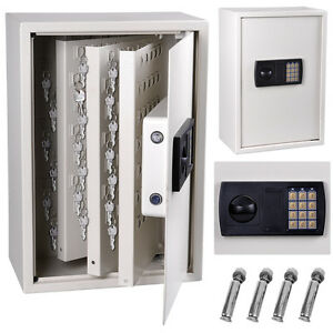 digital keyless lock 245 key storage safe box cabinet wall. Black Bedroom Furniture Sets. Home Design Ideas
