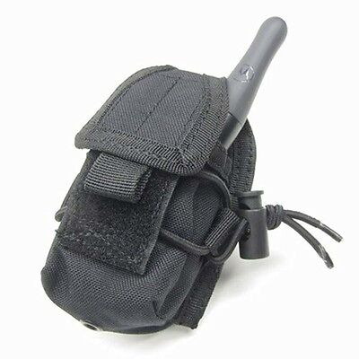 Handheld Radio Pouch - Condor Tactical HHR Hand Held Radio Pouch Black MA56-002 MOLLE PALS