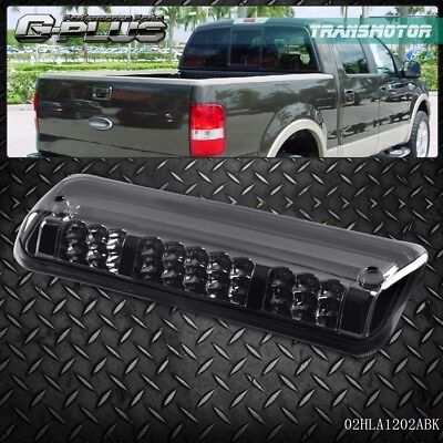 - For 2004 -2008 F150/Explorer Black  Housing Rear 3rd Brake Cargo Led Tail Light