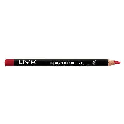 NYX  Slim Lip Liner Pencil color SPL813 Plush Red  0.04 oz B