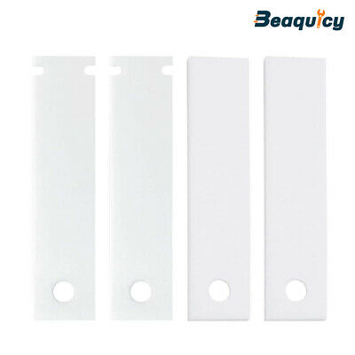 2×WE1M504 2×WE1M1067 Dryer Bearing Slides Only Compatible with GE Hotpoint Dryer