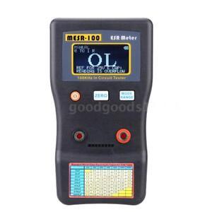 MESR-100 ESR Meter Capacitance Ohm Measuring Resistance Capacitor Tester W7J6