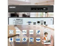 OWSOO 1TB 4CH 1080P H.264 P2P NVR CCTV Security Phone Control Motion Detect