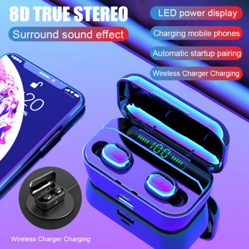 G6S TWS Bluetooth 5.0 Headset Stereo Wireless Earbuds Headph