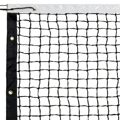 Tennis Playing Net Center Tape Woven Polyester Material Tennis Post Tape White