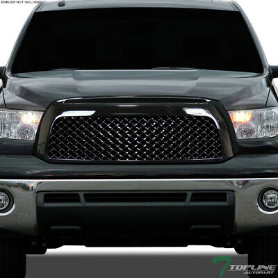Topline For 2007-2009 Toyota Tundra Mesh Front Hood Bumper Grill Grille - Black