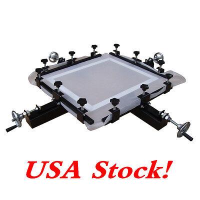 High Precise 24 X24 Manual Screen Stretching Machine Screen Printing Stretcher