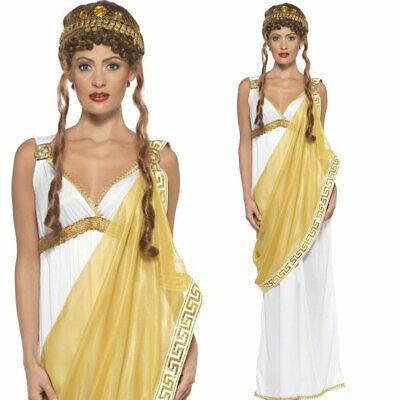 Römische Göttin Kostüm Toga Kostüm Deluxe Helen von - Römische Toga Kostüm