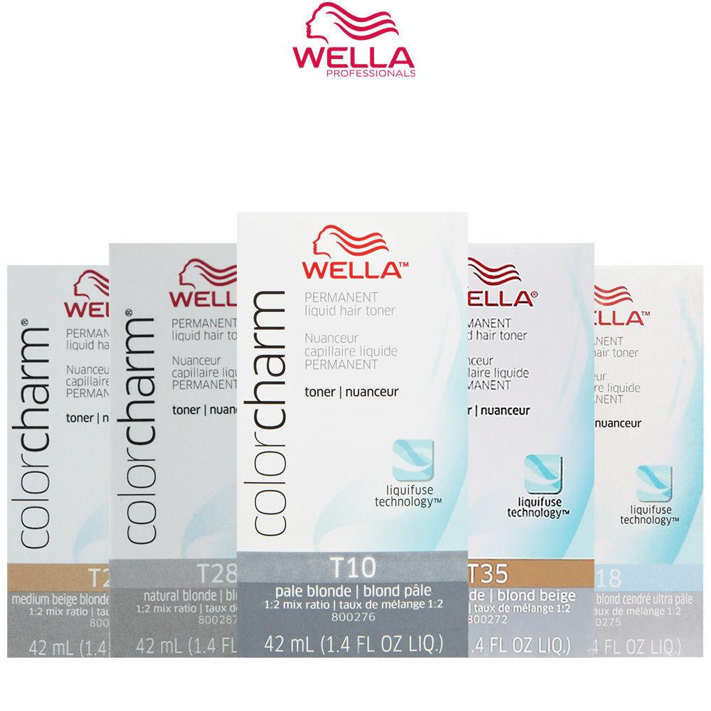 Купить Wella Color Charm Liquid Hair Toner and Additive 1.4 oz (Choose from 9 colors)