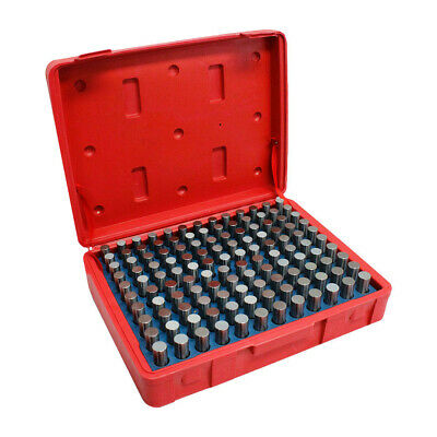 Gauge Set Metal Steel Plug 125 Pc Plus .501 - .625 Inch M3 Steel Pin Gage Set