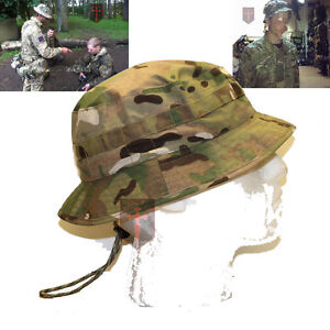 Special-Forces-Short-Brimmed-Multicam-MTP-Bush-Hat-All-Sizes-Boonie-Sun
