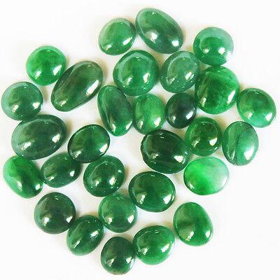 17.75 ct Natural Jadeite ( A Jade ) Cabochon Lot * Untreated * P1222